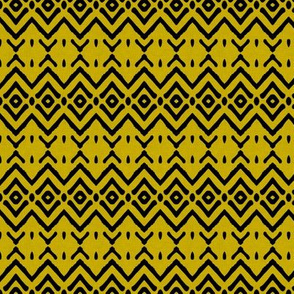 tribal_diamond_linen_mustard