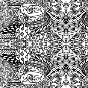 Tanglezen Drawn 2