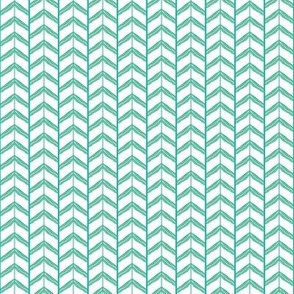It's Been Gnome 2 Happen! chevron green-blue/yellow on white