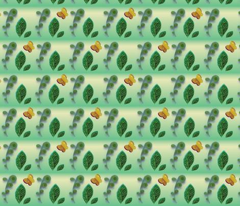 QuillingCoordGreen fabric by et_al on Spoonflower - custom fabric