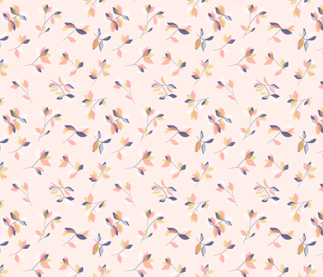 giliana pale pink fabric by meissa on Spoonflower - custom fabric
