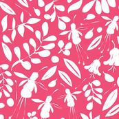 Breezy Garden Silhouette pink