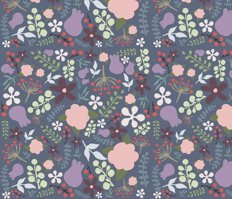 Floral Cut Out fabric by kylie_33 on Spoonflower - custom fabric