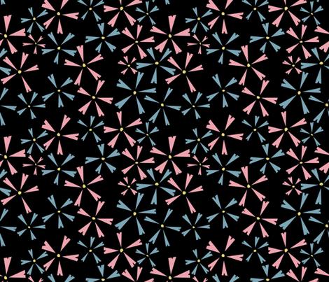 Choppy Creeping Phlox fabric by anniecdesigns on Spoonflower - custom fabric
