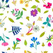 Vintage Paper Cut Flowers