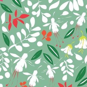 Matisse Garden mid green