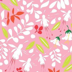 Matisse Garden floral pink