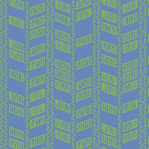 Abstract Leaf Chevrons