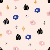 petite paper cut poppies