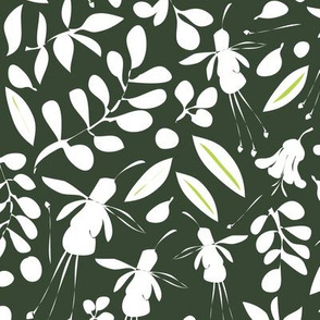 Garden Graphic silhouette_dark green