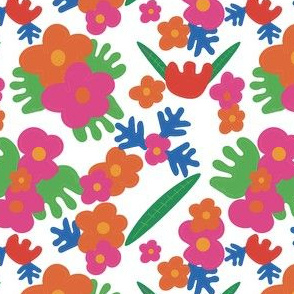 Floral cut outs