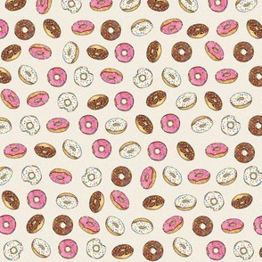 ALL the donuts! on Cream - Small