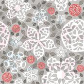 Papercut Valentine Flowers