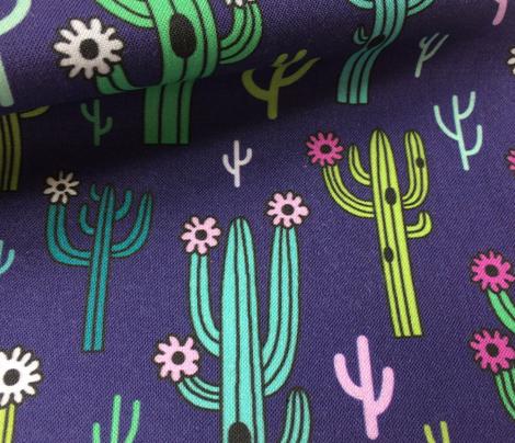 arizona cactus - navy