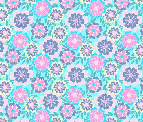 TROPICAL_1 fabric by ljscoloringbook on Spoonflower - custom fabric