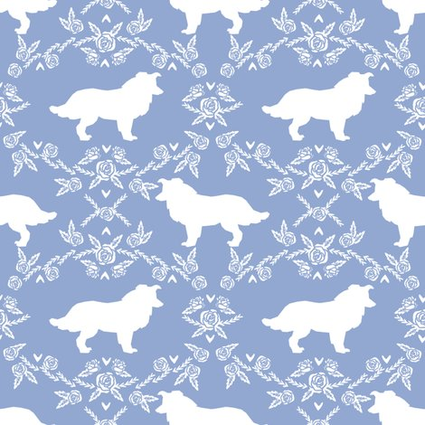 Rborder_collie_sil_floral_cerulean_shop_preview