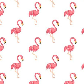 Flamingo midscale white