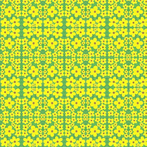Sunny Daisies Terrace Tiles