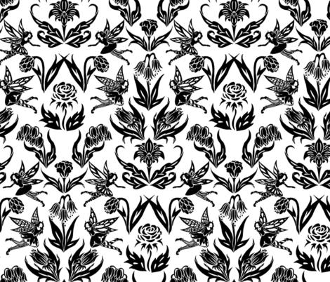 Fairy Garden Paper Cut