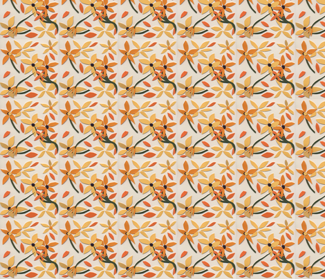 Summer Black Eyed Susans fabric by susan_h on Spoonflower - custom fabric