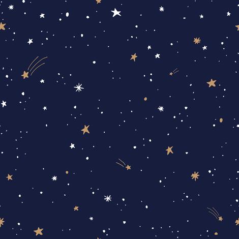 Starry Sky fabric by shelbyallison on Spoonflower - custom fabric