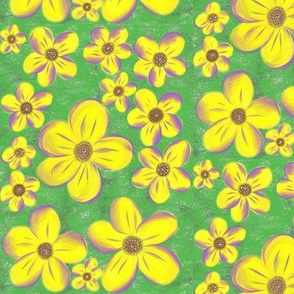Springtime Daisy Delight - Large Scale