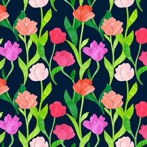Paper Tulip Garden