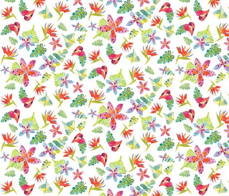 Tropicolors fabric by ivydoodlestudio on Spoonflower - custom fabric