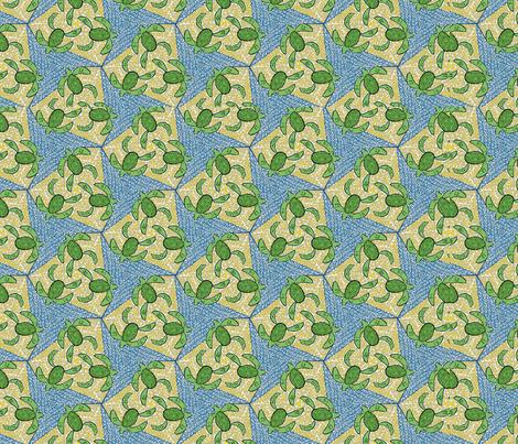 Turtles fabric by the_wookiee_workshop on Spoonflower - custom fabric