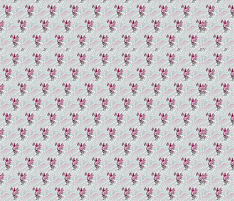 Flamingos fabric by the_wookiee_workshop on Spoonflower - custom fabric