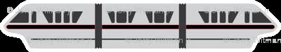 Monorail - Black
