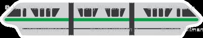 Monorail - Green