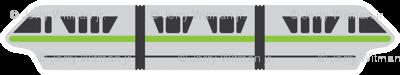 Monorail - Lime