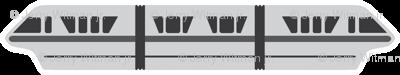 Monorail - Silver