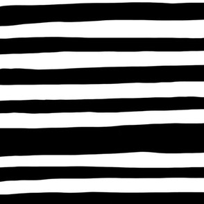 Black and white sketch stripe