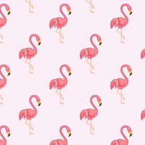 Flamingo midscale Pink