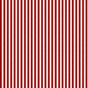 A red striped lace pattern