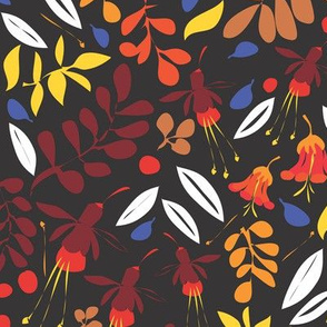 Matisse Garden late autumn sky