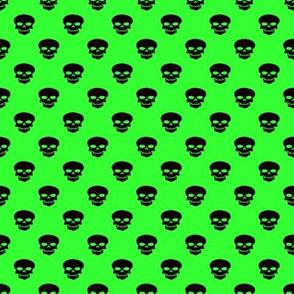 Skulls on Lime