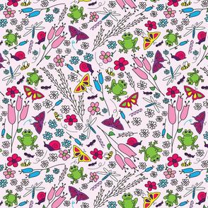 Spring Garden - Pink