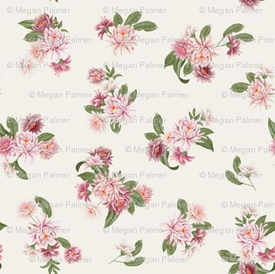 Kimono Floral - Ivory