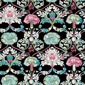 Baroque Floral - Black