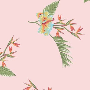 Tropical Dream Floral - Pink