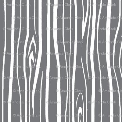 Woodgrain - Cool Grey