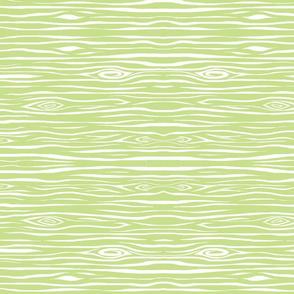 Woodgrain small - lime green