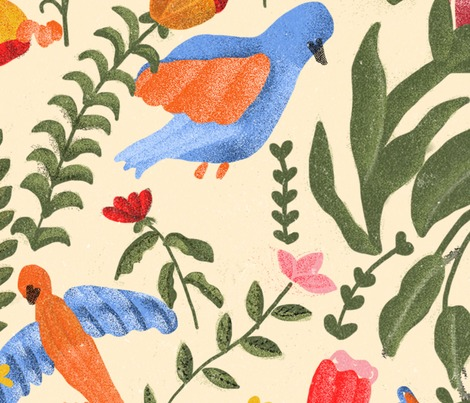 Rbirds_floral_pattern_contest141068preview