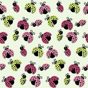 Ladybird Shuffle - Cloudy