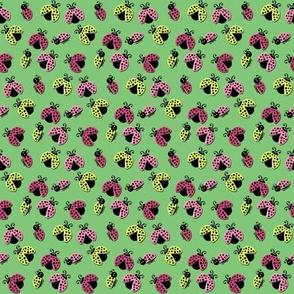 Ladybird Shuffle - Leaf Green - Small