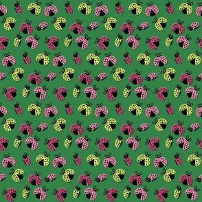 Ladybird Shuffle - Stem Green - Small
