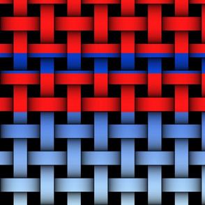bluegradiantredstripe_weave